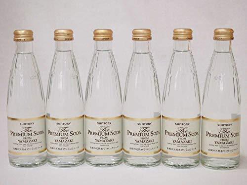 サントリー プレミアムソーダ 240ml瓶×6