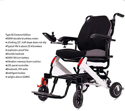 Elektro-Rollstuhl Elektro-Rollstuhl ältere Behinderte Auto älteren intelligenter automatischer beweglicher...