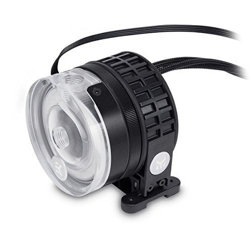EK Water Blocks EK-Xtop Revo D5 RGB PWM Pump – Acrylic (Included Pump)