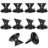 ANCIRS 10 Pack 35mm Suction Cup for Light Bulb Removal, PVC Light Changer Kit for MR16 GU10 LED Halogen Mini Track Lights Replacement- Black