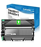 Galada Compatible Toner Cartridge and Drum Unit Replacement for Brother DR420 DR-420 TN450 TN-450 TN420 TN-420 for HL-2240 2270DW 2280DW MFC-7360N (1 Drum Unit +1 Black Toner Combo Pack)