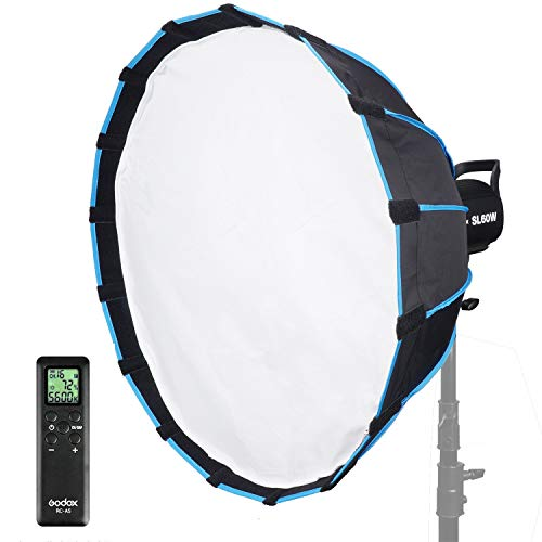 GODOX SL60W KIT WITH SOFTBOX REVIEW