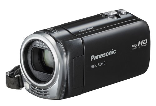 Panasonic HDC-SD40EG-K Videocamera 1.5 Megapixel [Importato da Germania]