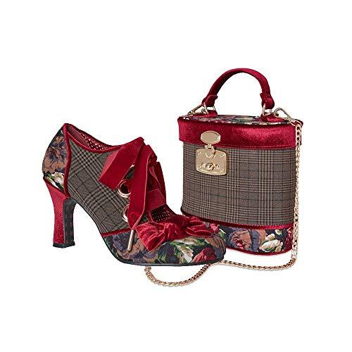 Ebbly Bboutique - Bolso de mano para mujer, estilo vintage, con talones...