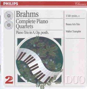 Duo - Brahms (Klavierquartette)