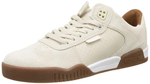 Supra Men's Ellington White/Gum Athletic Shoe