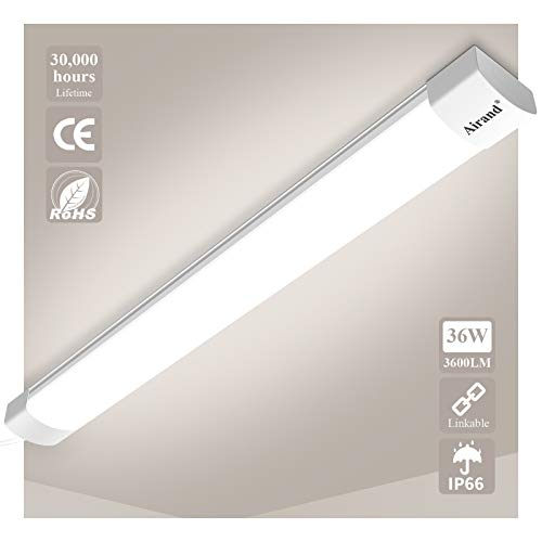 Airand Feuchtraumleuchte Led 36W 3600LM...