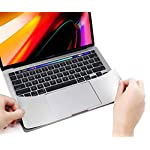 Palm Rest Cover Skin and Trackpad Protector Compatible with 2019 2018 MacBook Air 13-Inch Model A1932 with Touch Id… 17 Specially Design For 2016 2017 2018 2019 Released MacBook Pro 15 with touch bar model A1707 A1990 Prevent your new MacBook to avoid scratches by watch, buckles, jewelry and other metal objects Airflow Design, easy to uase with no bubble, renew the worn-out palm rest, It's a great way to update your worn-out palm rest with a different fresh new look