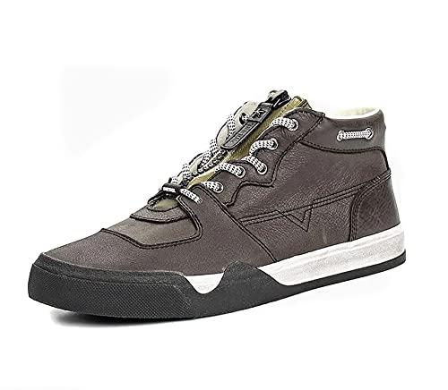 Diesel Zapatillas de Hombre GRINDD S-GRINDD Mid Zip (Black, Numeric_41)