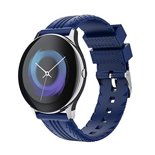 BNMY Reloj Inteligente Pantalla Táctil Completa Pulsera De Actividad Smartwatch Mujer Hombre Niño Reloj Deportivo A Prueba De Nadar Impermeable Podómetro Monitor De Sueño para iOS Android,E