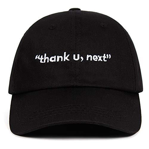 yitao Baseball Kappe Danke, Nächste Baseballmützen Ariana Grande Stickerei Papa Hut Unisex Frauen Mann Hüte Neuestes Album Danke, Nächste