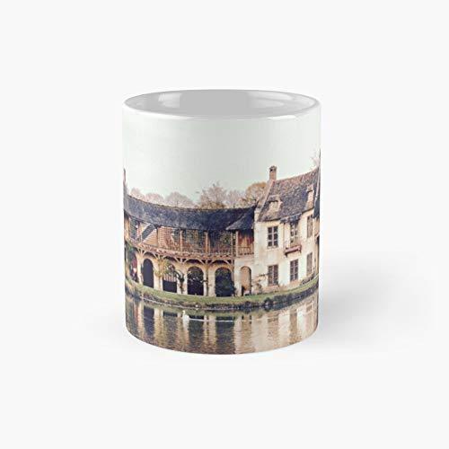 Versalles – Taza clásica de la aldea de María Antonieta | El mejor regalo divertidas tazas de café de 325 ml