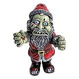 biteatey Zombie Gnombie - Statue de jardin gothique - Nain de jardin - Statue de cimetière - Nain de jardin effrayant - Polyrésine - Couleur