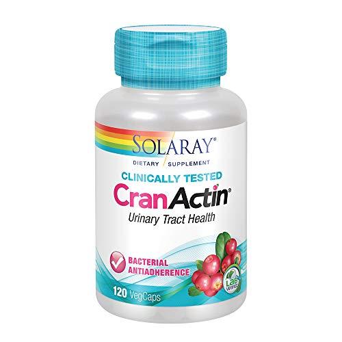Solaray CranActin 400 mg | Urinary Tract Health (120 CT)