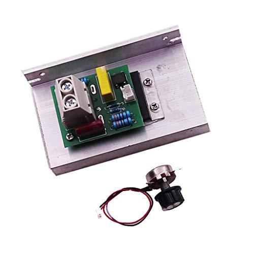 Regulador de Velocidad de Motor Voltaje Suminstros Electrodoméstico Casera