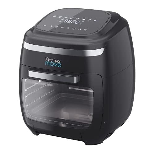 Friggitrice senza olio, XXL, 11 L, mini forno con accessori, 2000 W, COLORADO, friggitrice ad aria calda, friggitrice, raschiare, disidratare, cuoio, scaldare