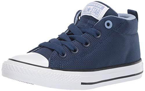 Converse Chuck Taylor All Star Street - Tenis unisex para niños, azul (Navy/Indigo Fog/White), 29 EU