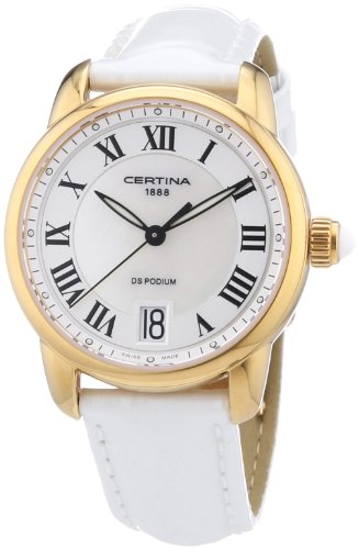 Certina Damen-Armbanduhr XS Analog Quarz Leder C025.210.36.118.00