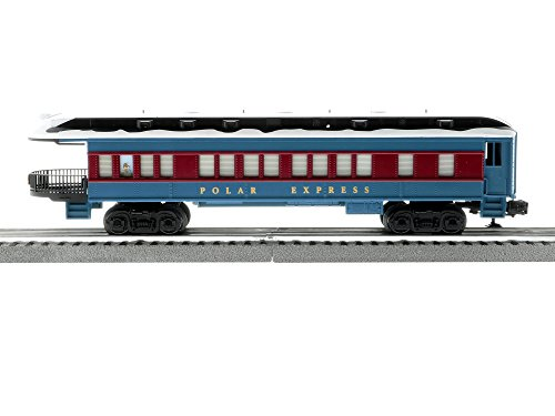 Lionel The Polar Express Electric O Gauge Model Train Set with Remote and Bluetooth Capability