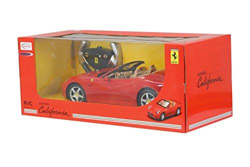 RC Rennwagen kaufen Rennwagen Bild 1: Jamara 404290 - RC Ferrari California 1:12 inklusive Fernsteuerung, rot*