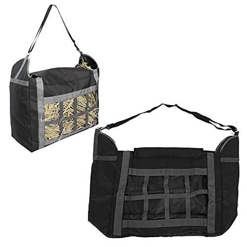 Bolsa de Hierba para Caballos, Tela Oxford de Alta Capacidad 600D, Bolsa de Almacenamiento de Paja de Hierba marchita para Suministro de alimentación para Caballos y Cabras