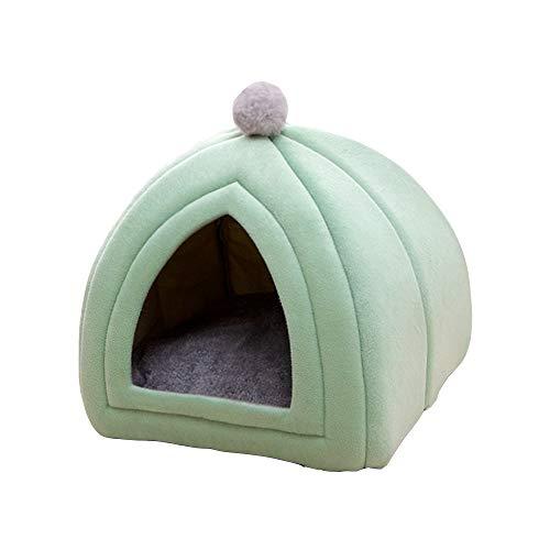 XXVH Cama para Perros y sofá, casa para Perros con calefacción Nido Suave para Perros Perrera de Invierno para Cachorros Gatos de Talla Grande pequeños y medianos para Mascotas B S