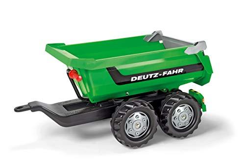Rolly Toys 122240 - Anhänger / rollyHalfpipe Deutz (Zweiachsenanhänger mit Kippfunktion, für Kinder ab 3 Jahre)