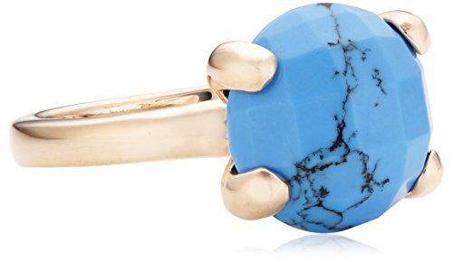 Bronzallure Damen-Ring Bronze Tuerkis blau Gr.52 (16.6) WSBZ00013T-12