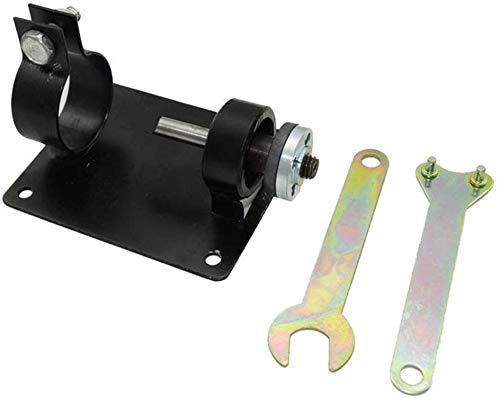 13 mm/10 mm elektrischer Bohrmaschinen-Halter, Polier-Schleifbügel, Sitzständer, Bohrmaschinen-Basis-Set, Maschinen-Halterung, Stange + 2 Schraubenschlüssel + 2 Dichtungen, Metall