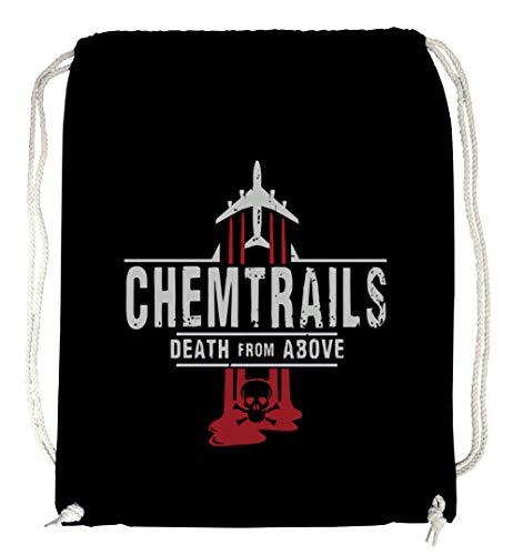 Certified Freak Chemtrails Gymsack Black