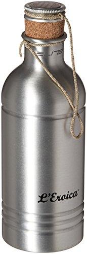 Elite 0150201 Eroica Water Bottle, 600ml, Silver