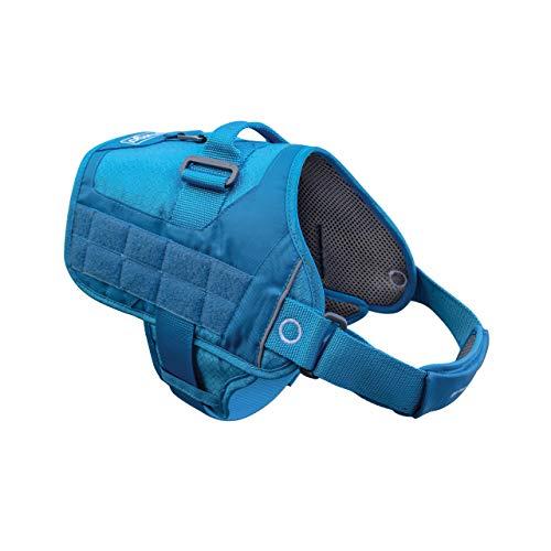 Kurgo Molle Clip Compatible Dog HarnessMolle Vest for DogsService Dog Training VestService Dog Molle VestRs Townie Dog Harness (Coastal Blue, M), Model:K01974
