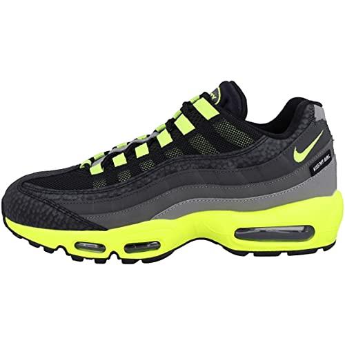 Nike Sneaker da uomo Low Air Max 95, Nero (Black Volt Medium Ash Dark Pewter Dj4627 001), 44 EU