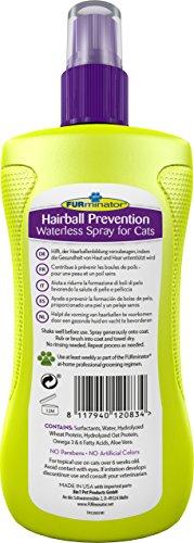 FURminator Anti-Haarballen Spray Trockenspray für Katzen, hilft übermäßiges Haaren zu reduzieren ohne zu baden, wirkt vorbeugend gegen Haarballen, 1 Sprühflasche (1 x 250 ml) - 2