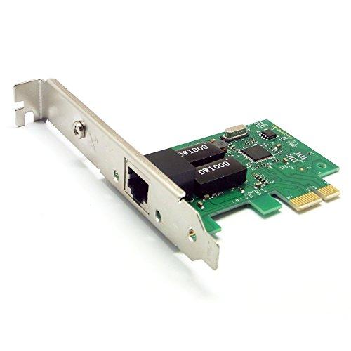Sienoc PCI-E Express 10/100/1000M Gigabit Ethernet