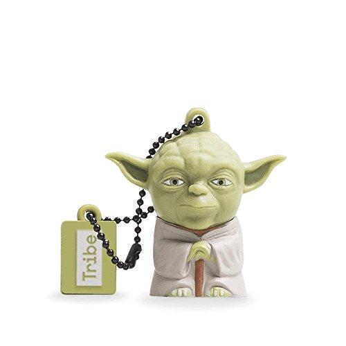 Star Wars Chiavetta USB 8 GB Yoda - Memoria Flash Drive 2.0 Originale Disney, Tribe FD007404