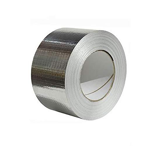 ROUNYY Klebebanddichtungen Butylkautschuk Tape Reparaturband, Isolierband und Dichtungsband (Wasser, Luft),silber (10 cm breit und 5 Meter lang, Silber)