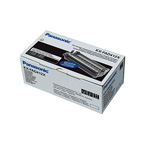 Panasonic KX-FAD412X Trommeleinheit Kapazität 6.000 Seiten für Panasonic KX-MB2000E-B/KX-MB2010E-B/KX-MB2025E-W/KX-MB2030E-W Laser-Drucker