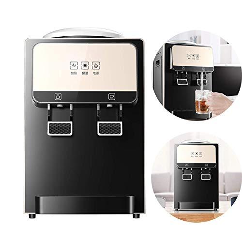 FZYE Dispensador de Agua Dispensador de Agua eléctrico Mini dispensador instantáneo de Agua fría/Caliente para encimera de Cocina Enfriador de Bebidas Empuje la Taza para Tomar Agua,