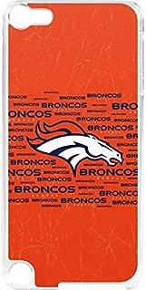 Skinit NFL Denver Broncos iPod Touch 6th Gen LeNu Case - Denver Broncos Orange Blast Design - Premium Vinyl Decal Phone Cover