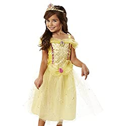 Disney Princess Keys to the Kingdom Belle Kids Costume from Amazon Prime