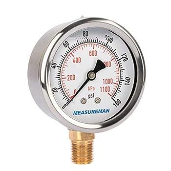 Best oil filled pressure gauge Reviews
