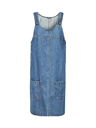 edc by Esprit 089cc1e005 Vestido, Azul (Blue Medium Wash 902), X-Small para Mujer