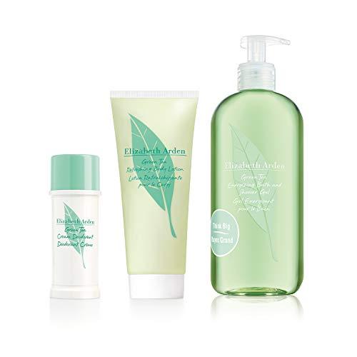 Elizabeth Arden Green Tea Refeshing Body Lotion 200 ml + Energizing Bath & Shower Gel 500 ml + Deodorant Creme 40 ml