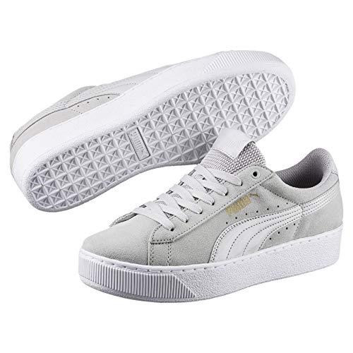 Puma Damen Vikky Platform Sneakers Grau Gray Violet 03, 38.5 EU