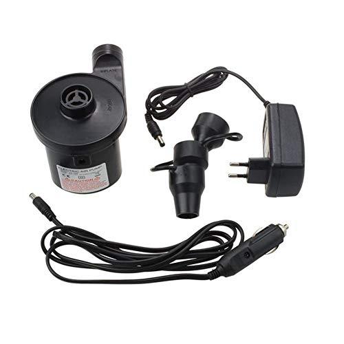 ScottDecor Pet Hair Dryer Bomba eléctrica de la Bomba de Aire eléctrica Incluye 3 Accesorios for colchones de Aire, Animales inflables de la natación o Acampar automático y f