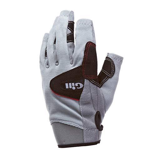 Gill Segelhandschuhe Deckhand Handschuhe - Kurze Finger Größe XXL