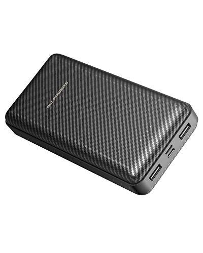 ALLPOWERS Powerbank 24000mAh Externer Akku, 2 USB Ausgang Handy Ladegerät für iPhone X/8/8 Plus/7/6s/6 Plus, iPad, Samsung, Huawei, Smartphone und Tablet
