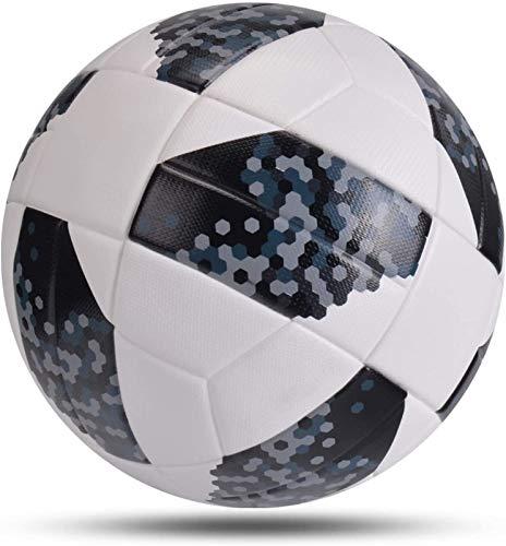 Plztou Fútbol Talla 4 Fútbol Balón Soft PU Fútbol Motor Partido Partido Fútbol Deportes Entrenamiento Balls League