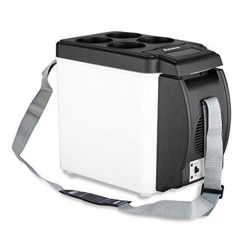 Excelvan Car Refrigerator 12V Car Cooler Warmer 6L Electric Fridge Portable...